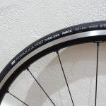 ロードバイク初めてのチューブレスタイヤ(IRC)取り付け!【WH-RS500】